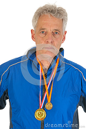 Senior sportsman
