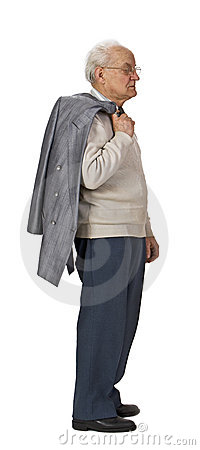Senior standing-up