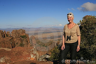 Senior Tourist Africa
