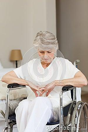 Free Senior Woman Asleep Stock Photos - 18254063