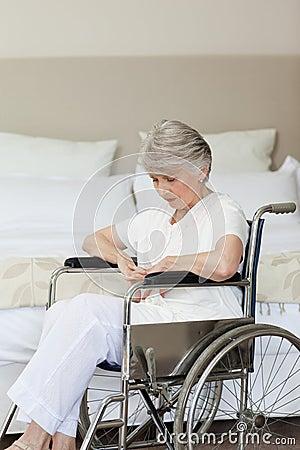 Free Senior Woman Asleep Stock Photography - 18254072