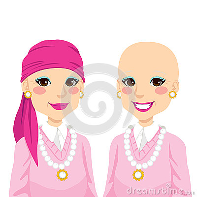 Senior Woman With Cancer