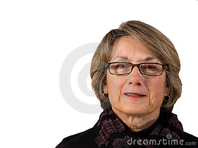 Senior Woman with Glasses