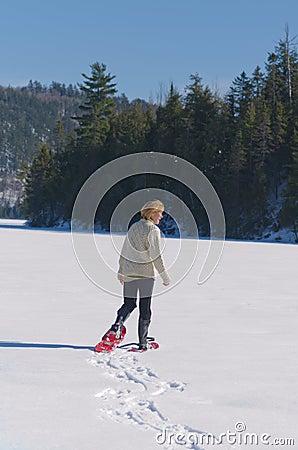 Senior Women Having Fun Exercising on Lake