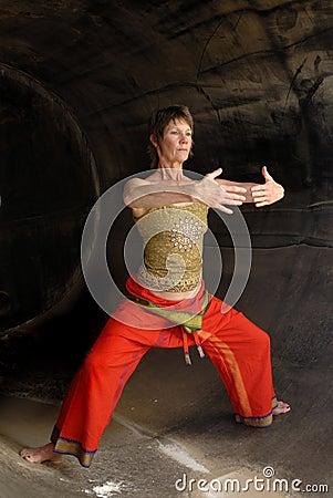 Senior Woman Qi Gong