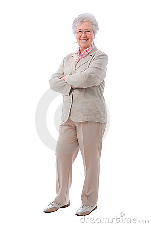 Free Senior Woman Standing Stock Photo - 19521640
