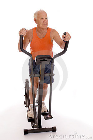 Free Senior Work-Out Royalty Free Stock Image - 2353386
