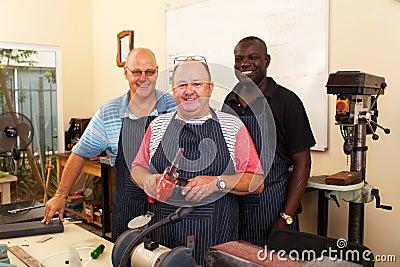 Senior workers workshop