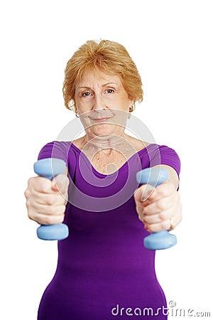 Senior Workout - Freeweights