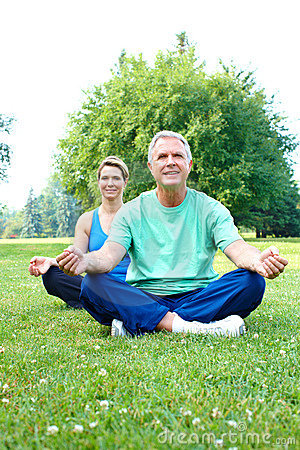 Free Senior Yoga Stock Photos - 15442503