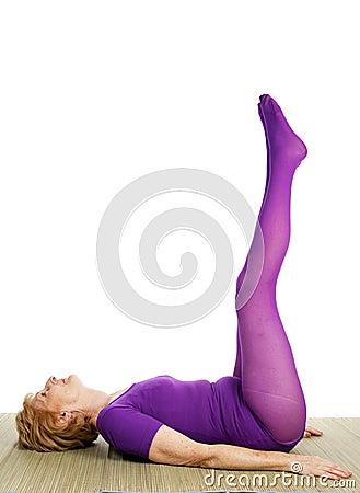 Senior Yoga - Double Leg Raise