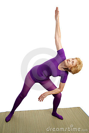 Senior Yoga - Modified Triangl