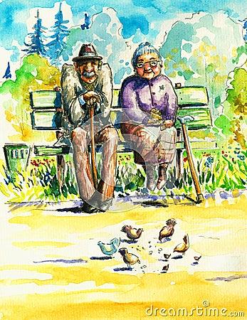 Free Seniors Royalty Free Stock Images - 15014479