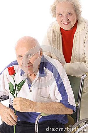 Free Seniors In Love Royalty Free Stock Image - 4011986
