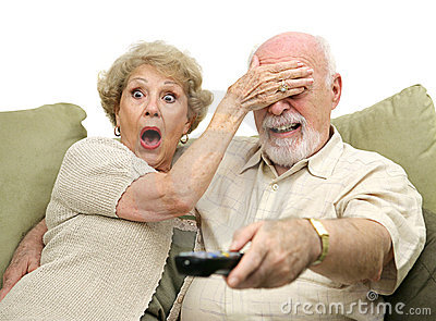 Seniors Shocked by TV