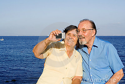 Seniors On Vacation Royalty Free Stock Images - Image: 2814889