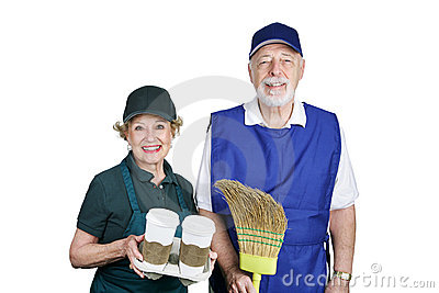 Seniors in Work Force