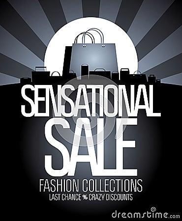 Sensational sale design.