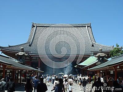 Senso-ji temple in Asakusa Tokyo, Japan