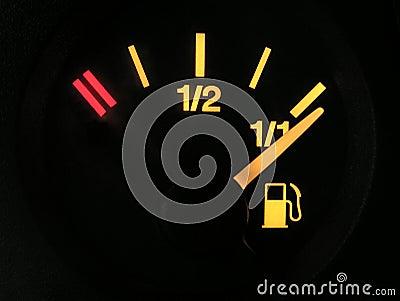 Sensor of fuel full
