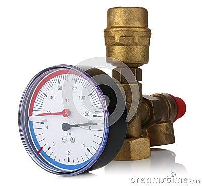 Sensor temperature and pressure