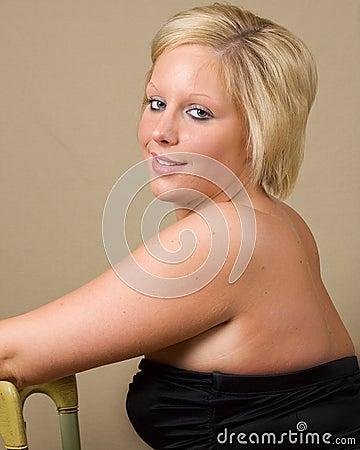 A Sensual Blonde