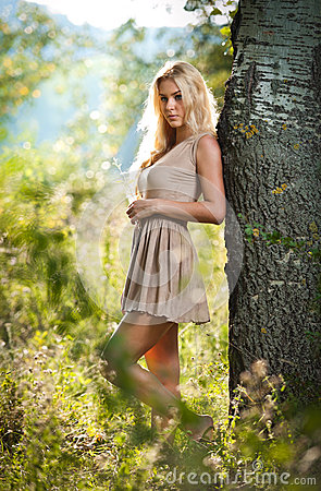 sensual blonde female field sexy short dress 25802759 Get a Bride Via the internet With Basic steps