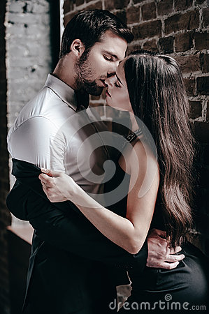 Free Sensual Kiss. Stock Photo - 65662000