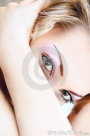 Sensual look