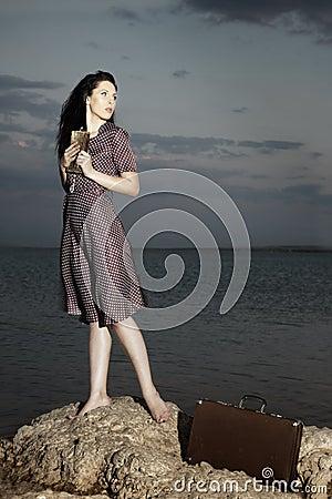 Free Sensual Traveller Royalty Free Stock Image - 10802196