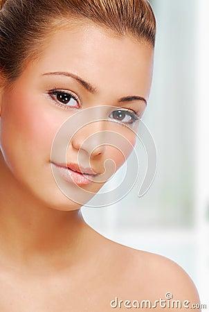 Sensuality  ethnic beautiful woman