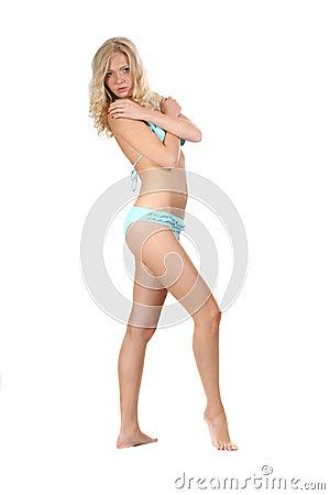 Sensuality woman in bikini
