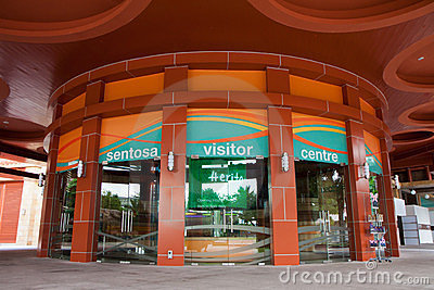 Sentosa Visitor Centre Editorial Image