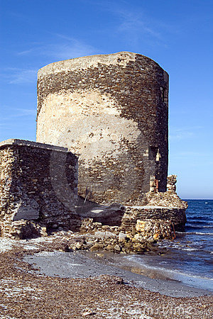 Sentry serf tower on coast - 2