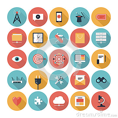 Free SEO And Web Icons Set Royalty Free Stock Photography - 35512077