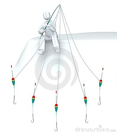 Free SEO Angler - Fishing V2 Royalty Free Stock Images - 9452039