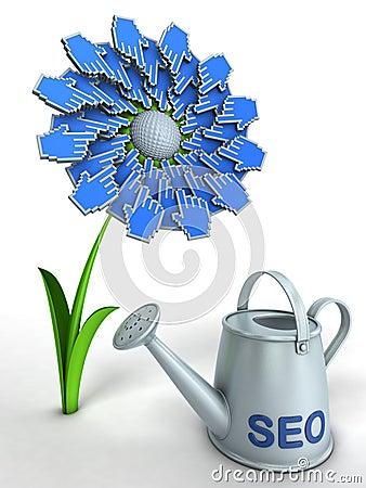 SEO flower