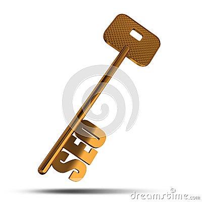 SEO gold key