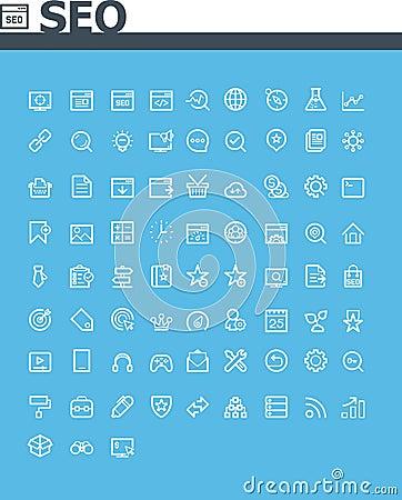SEO icon set