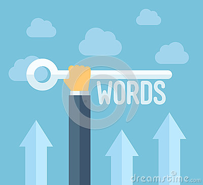 Free SEO Keywords Flat Illustration Concept Stock Photography - 38747412