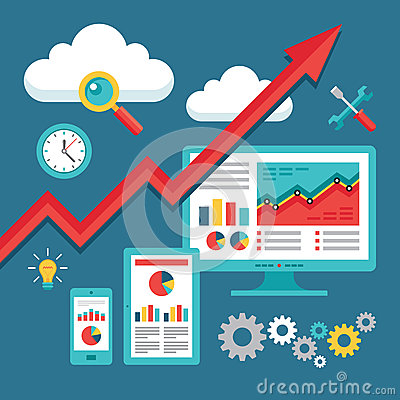 Free SEO (Search Engine Optimization) Programming - Business Up-Trend Royalty Free Stock Photo - 41247865