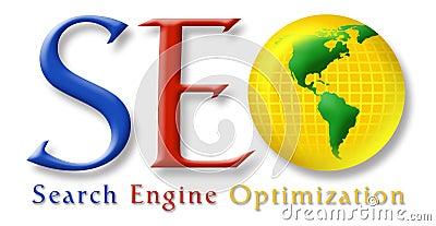 SEO Stylized Logo Stock Photo - Image: 14761010