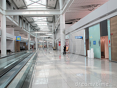 Seoul airport Editorial Stock Image