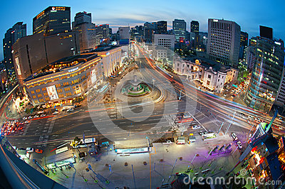 Nightview seoul Editorial Photography