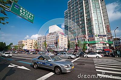 Seoul, South Korea street Editorial Photo