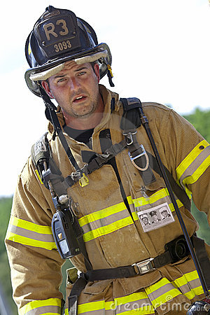 SEP 11, 2011 - Firefighter Memorial Stair Climb Editorial Image