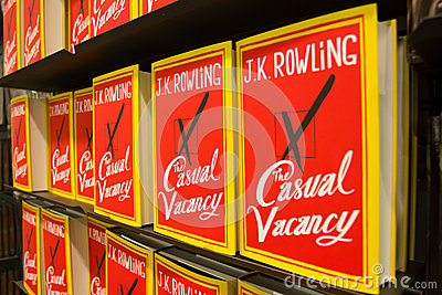 Sep 27:  J.K. Rowling s The Casual Vacancy Editorial Photo