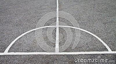Sepak takraw courts.