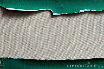 SEPARATE PIECE OF GREEN PAPER