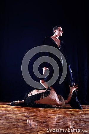 Separation - dancers in ballroom